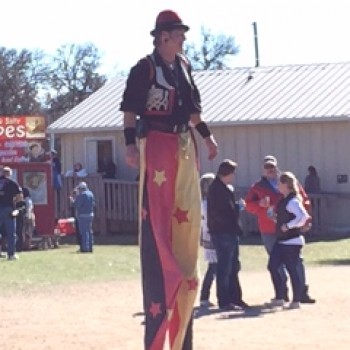 stilts at Ren Fest