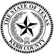 The State of Texas Kerr County logo