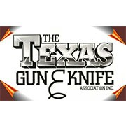The Texas Gun & Knife Association logo