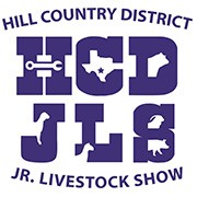 Hill Country District Jr. Livestock Show logo